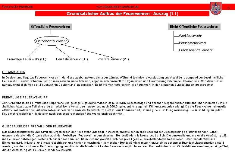 Sie sehen Bilder vom Artikel: Das Feuerwehrwesen in Baden-Württemberg